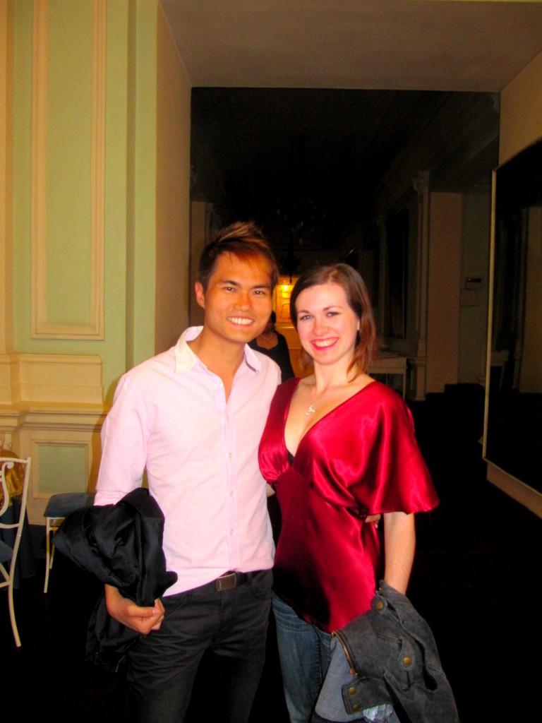 With Aussie Friend Inside Mariinsky Theatre