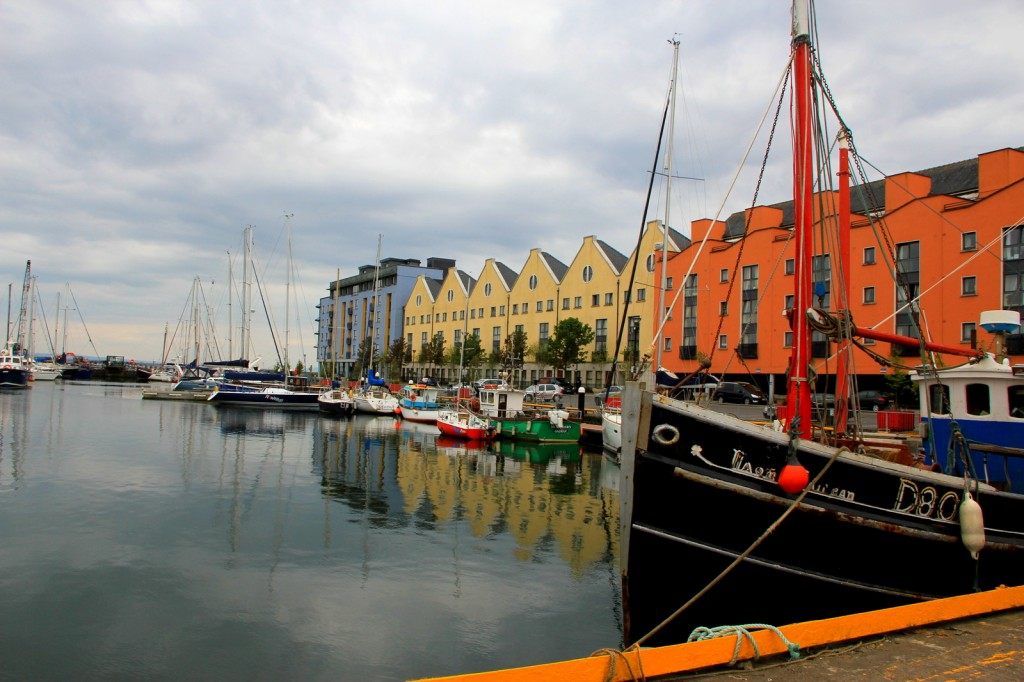 The Galway dock