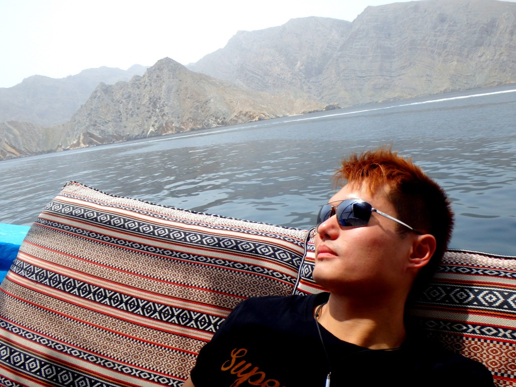 Chilling at the Khasab Fjords