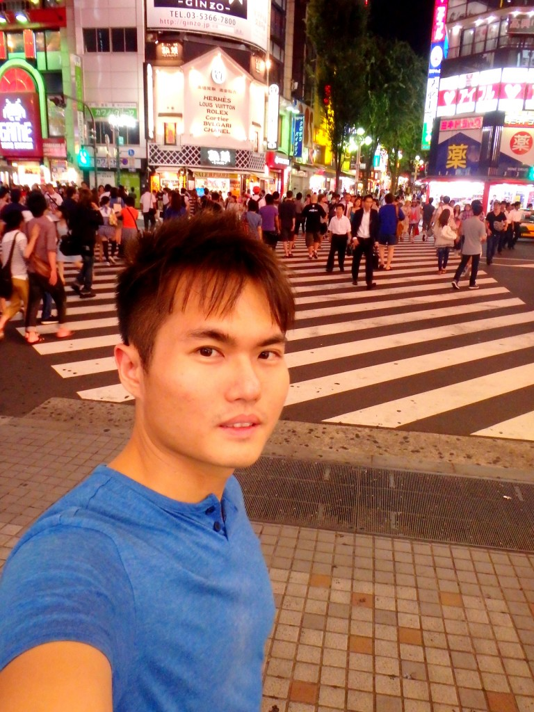 Getting lost in the bustling city of Tokyo, Japan