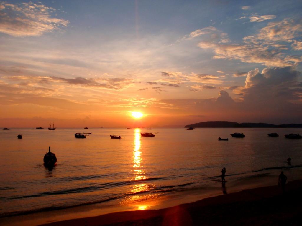 Turning Sunset Soon in Krabi