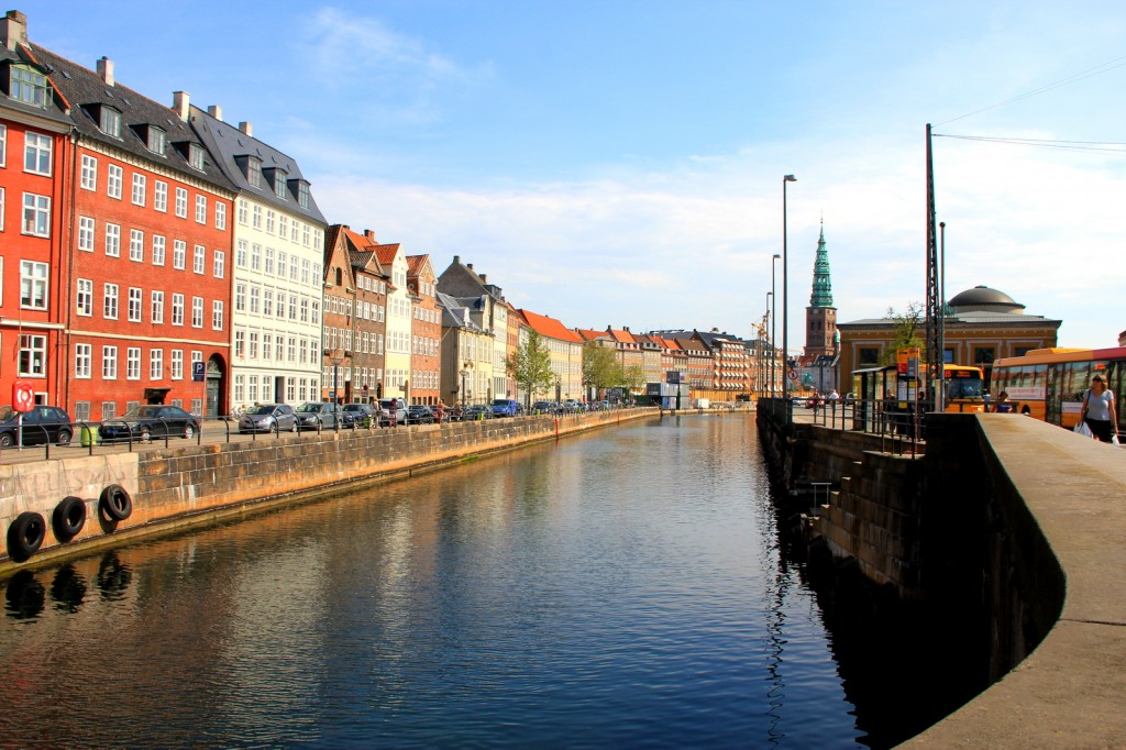 Beautiful canal in Copenhagen