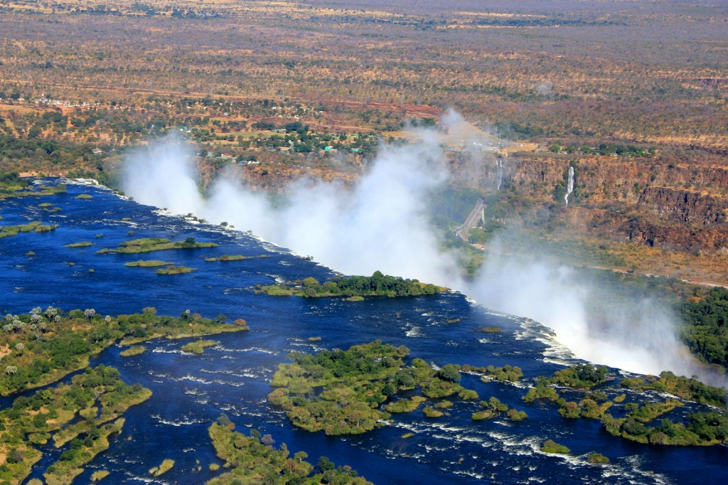 On my way to Victoria Falls