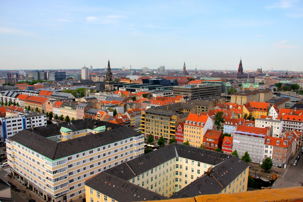 City scape of Copenhagen