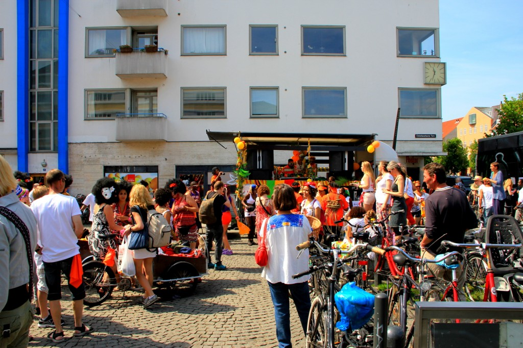 Random beer drinking & I love Copenhagen party