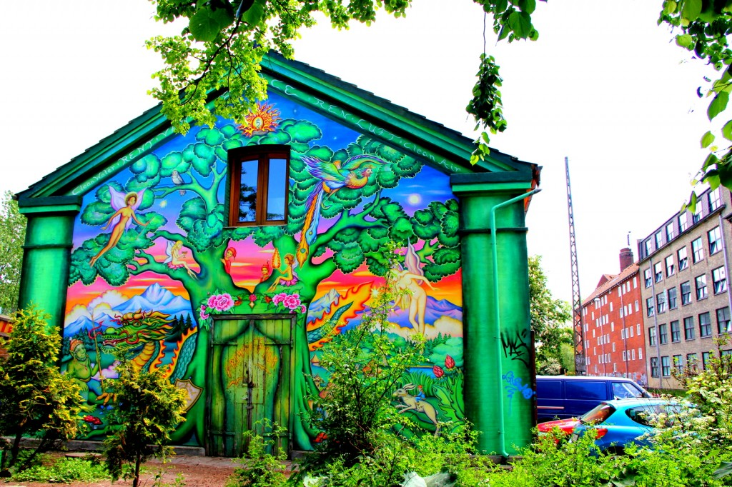 Typical house in Christiania