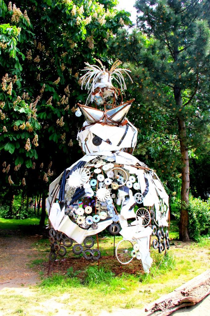 A creative decoration in Christiania