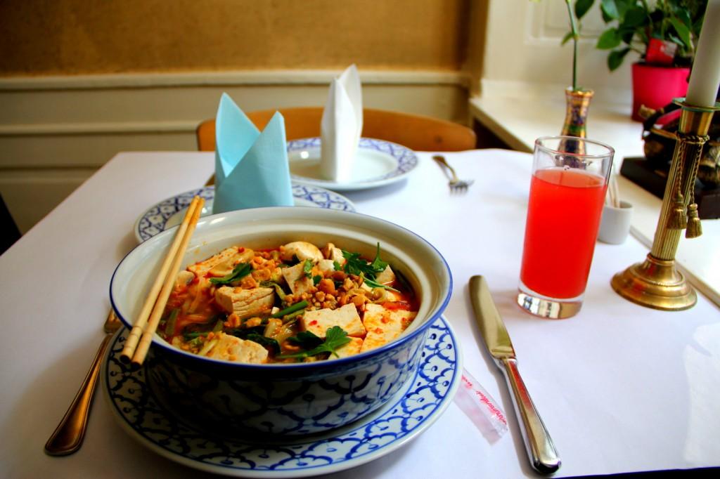 My Thai-Danish dish in Sithep, Copenhagen