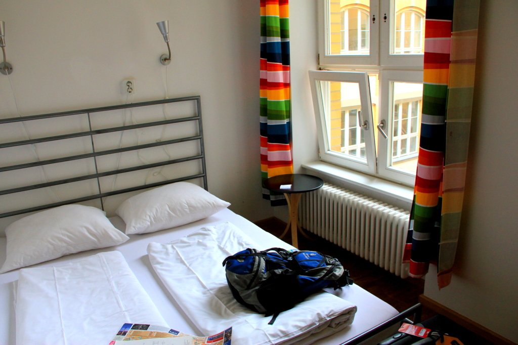 My luxurious hostel in Berlin, Germany