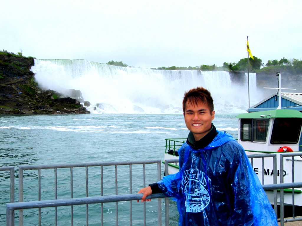 With the American Falls