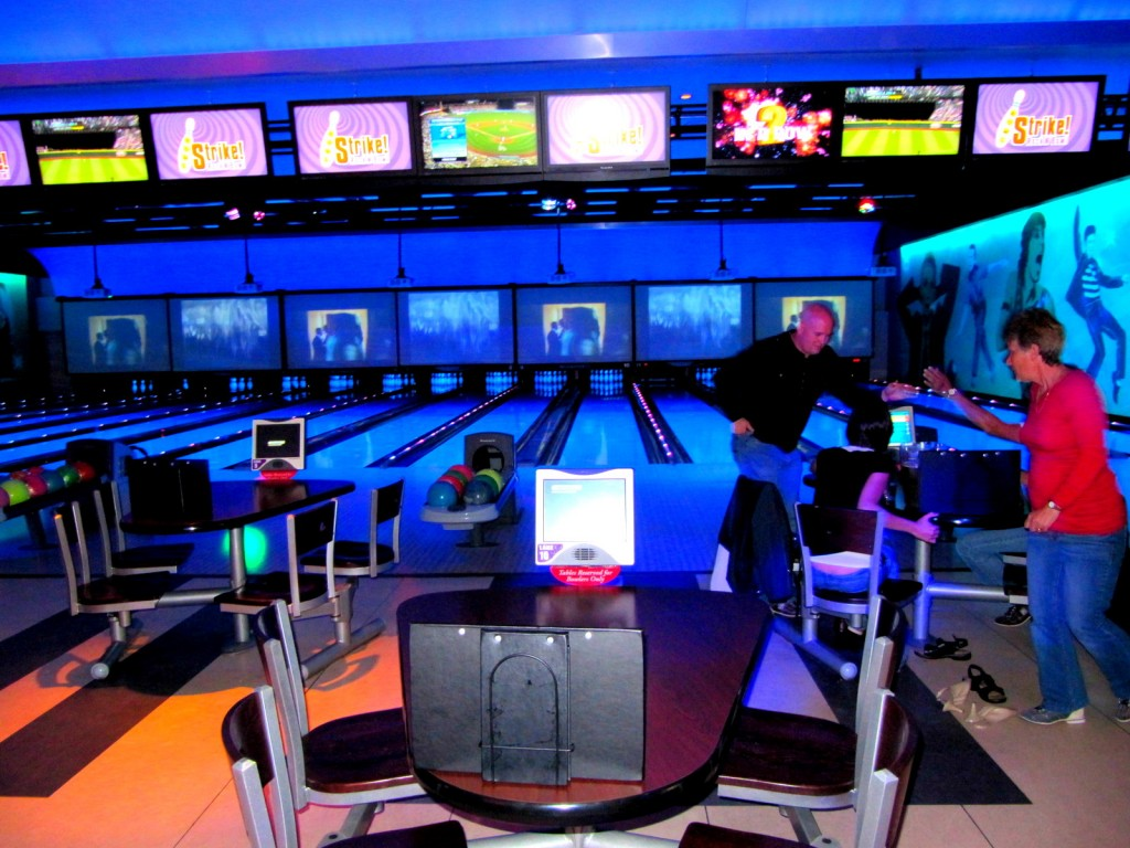 Glow In The Dark Bowling Alley