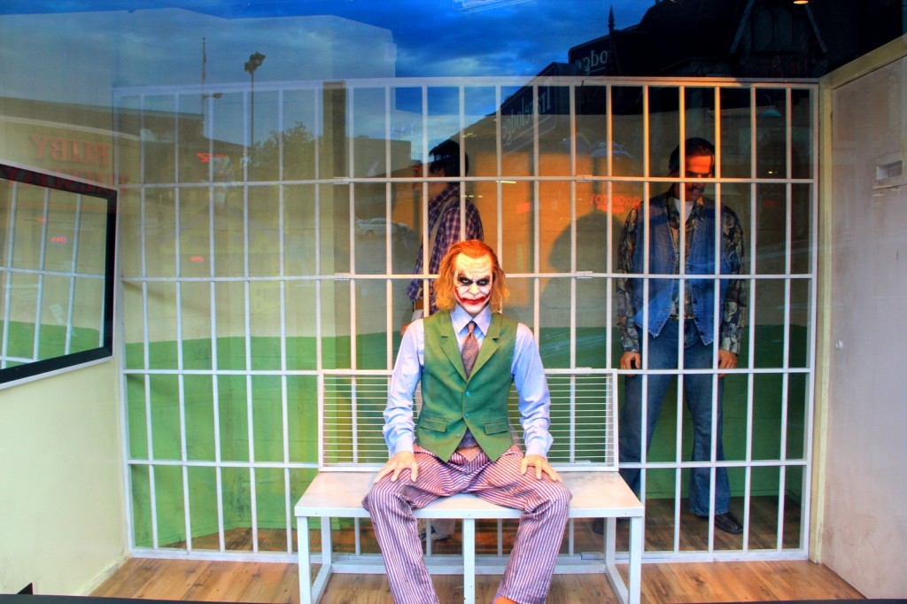 Joker Staring You At Niagara Falls