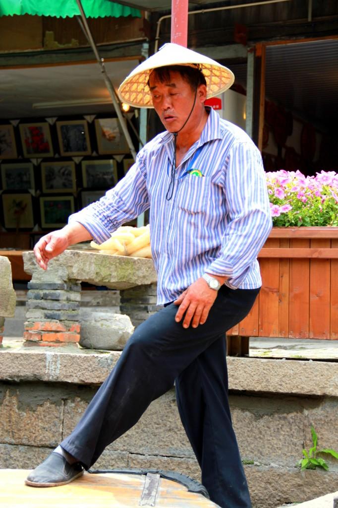 My Chinese boatman