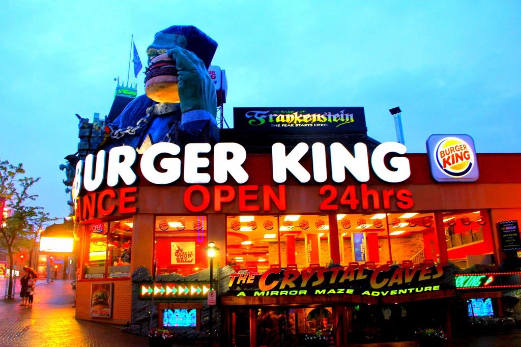 Frankenstein and Burger King