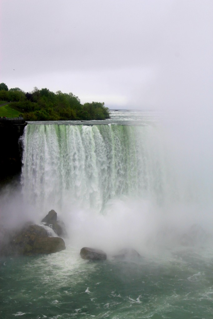American side of the Horseshoe Falls