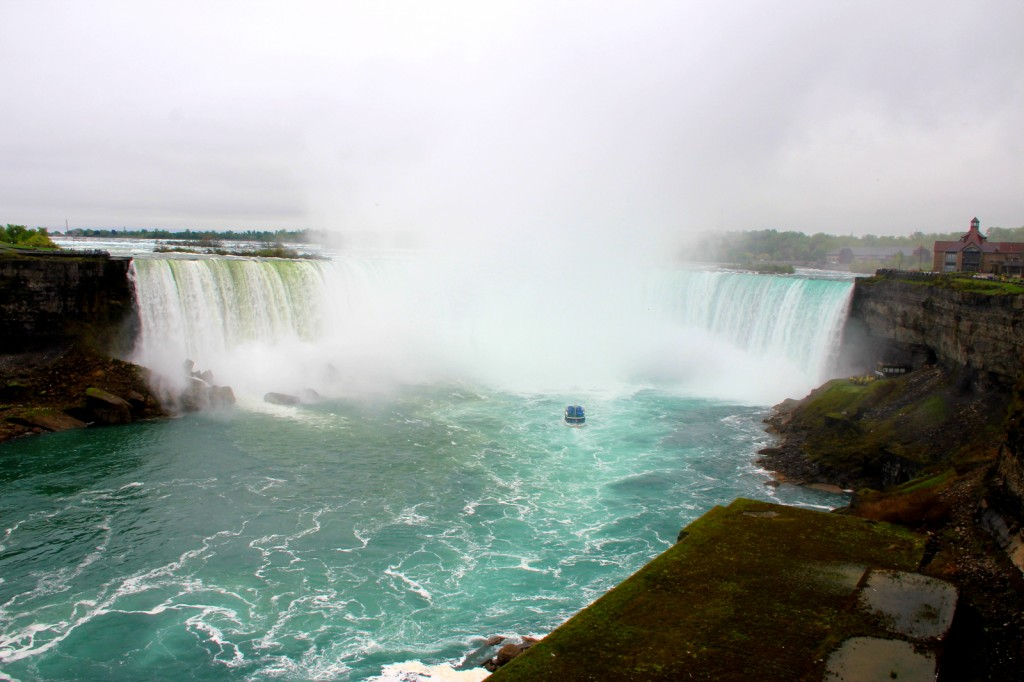 The Horseshoe Falls from Canada