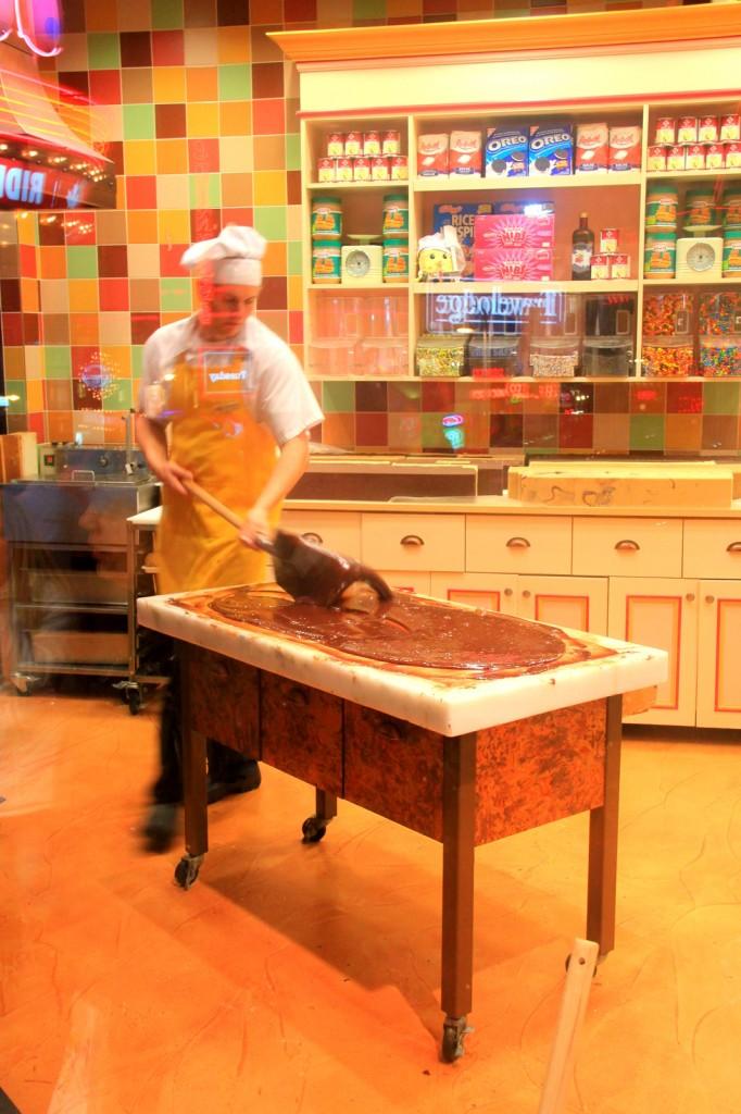 Chocolate Making at Fudge Factory