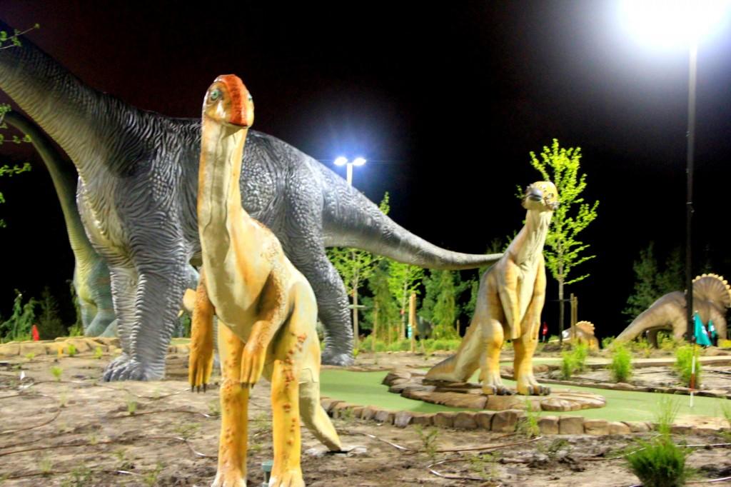Dinosaur at Jurassic Park