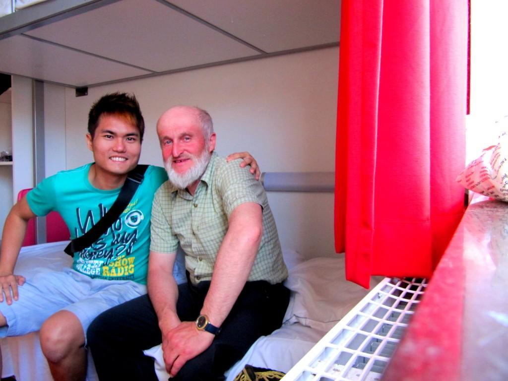 Oldest Backpacker - Austrian Professor