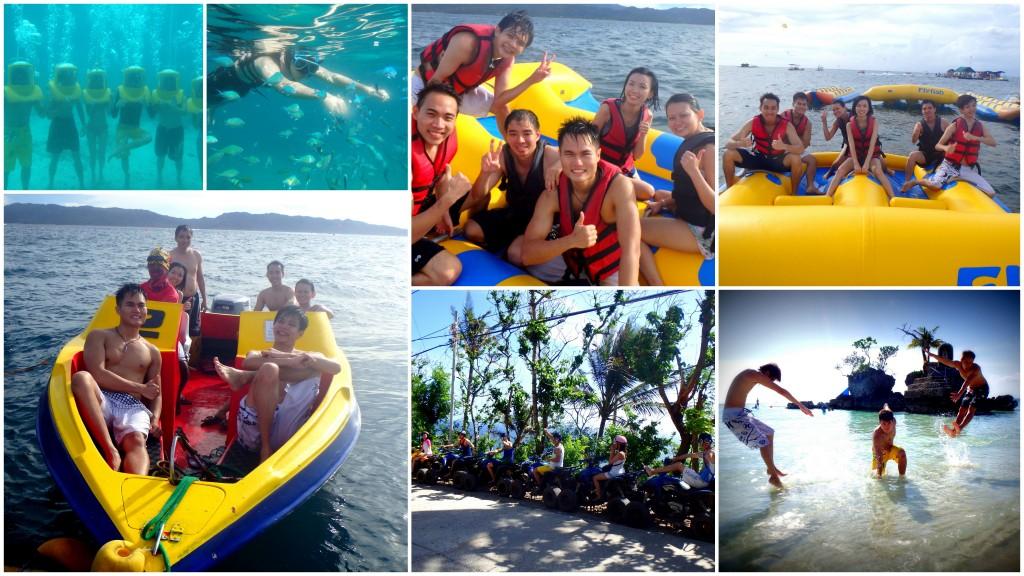 Activities in Boracay Island