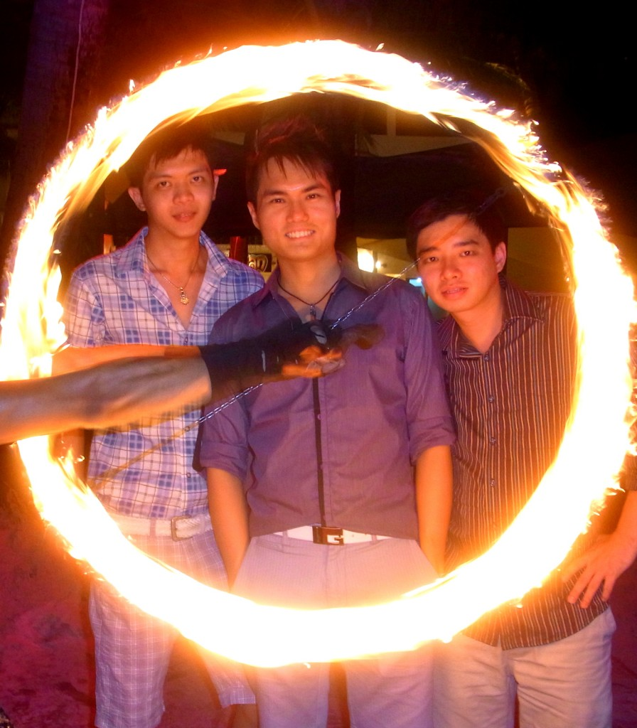 Impressive Fire Dance