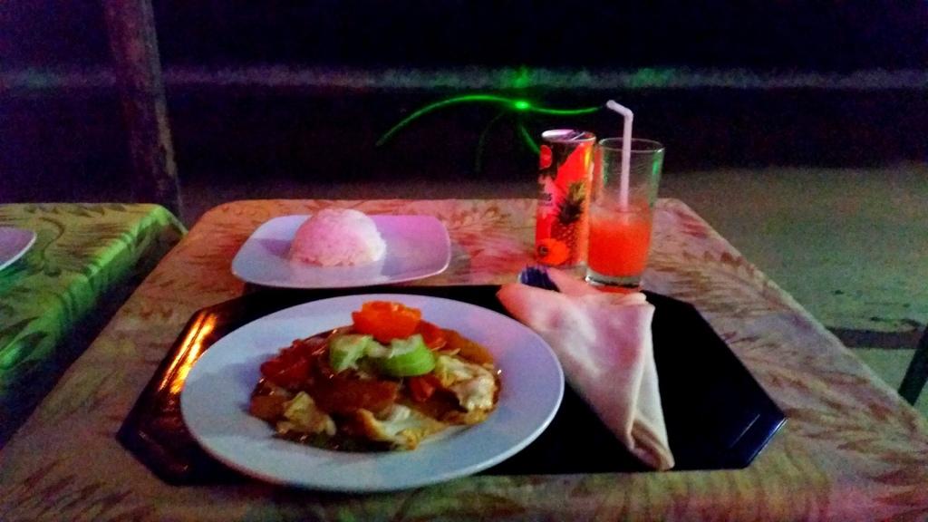 My dinner in beautiful El Nido