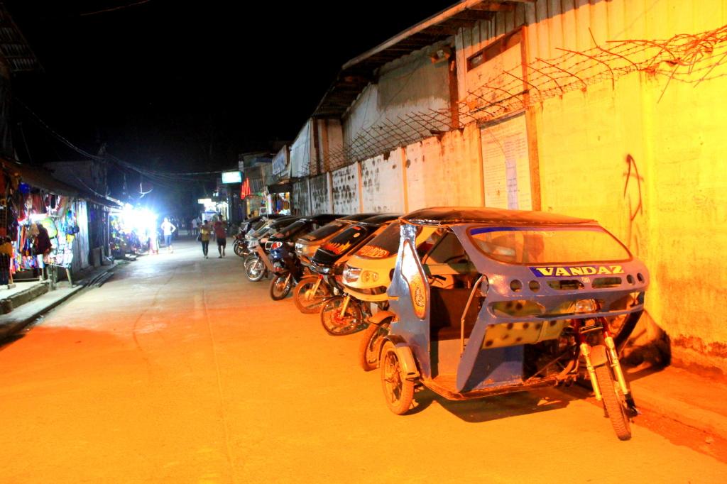 Tricycle Taxis at El Nido