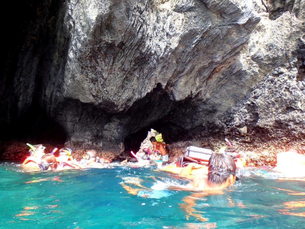 Small hole entering the Secret Beach