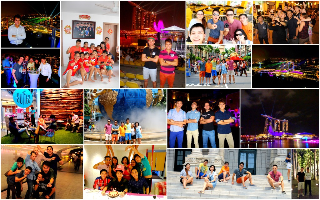 I Love Singapore 2014 Collage