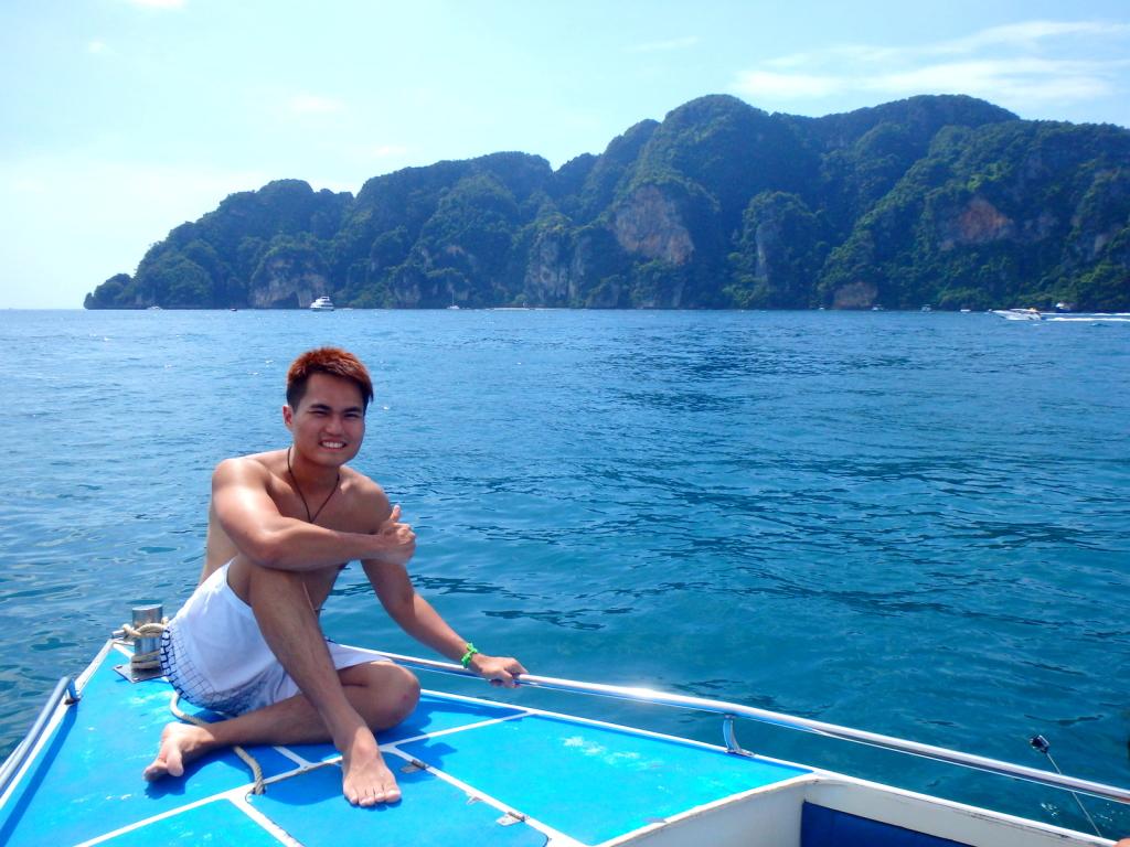 At Koh Phi Phi