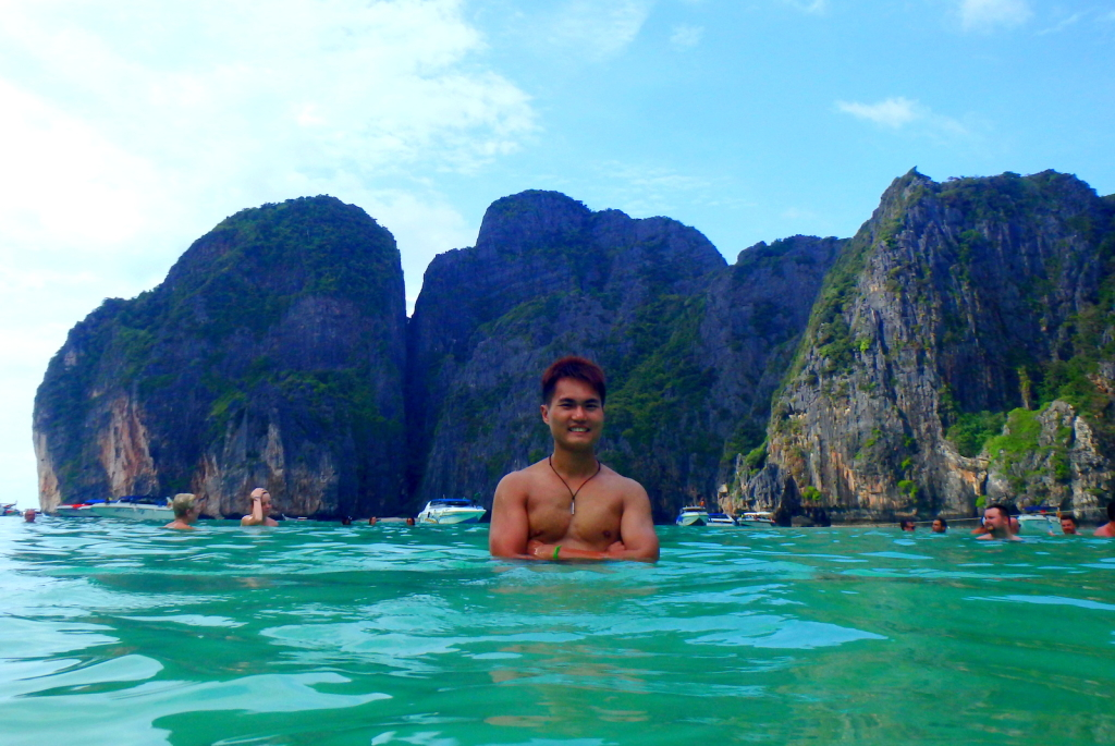 Chillax at Maya Bay, Koh Phi Phi