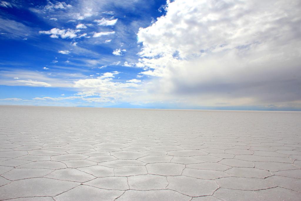 Salar de Uyuni, Bolivia (Dry)