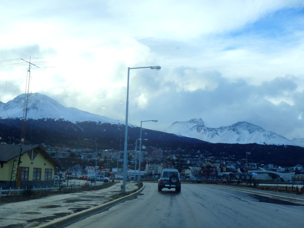 Before the blizzard in Ushuaia, Argentina