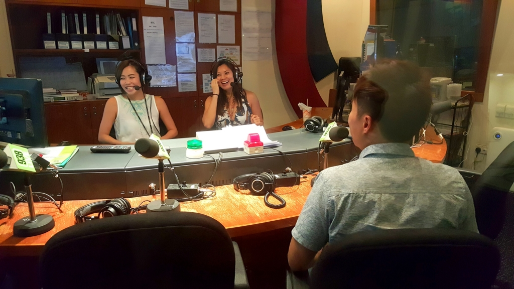 Some fun moments at 938Live Interview