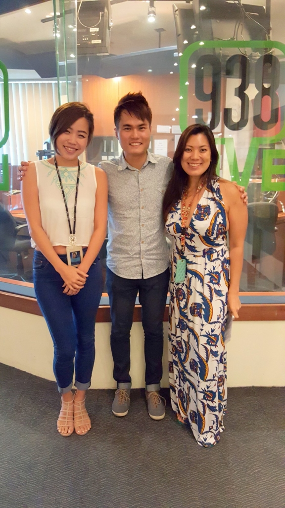 Keith Yuen with Angela Lim and Daphne Lim