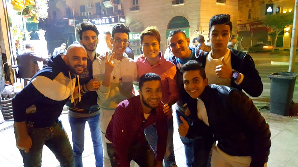 The funny Middle Eastern guys! :-)