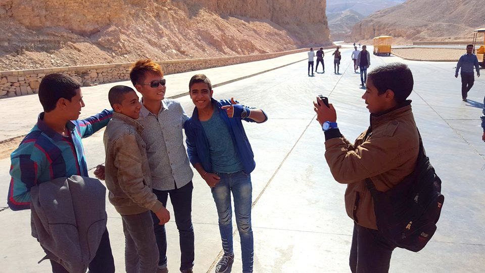 Asked for photos in Egypt! :-)