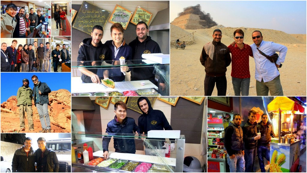 Great services I received and awesome friends I've made in the Middle East! :-)