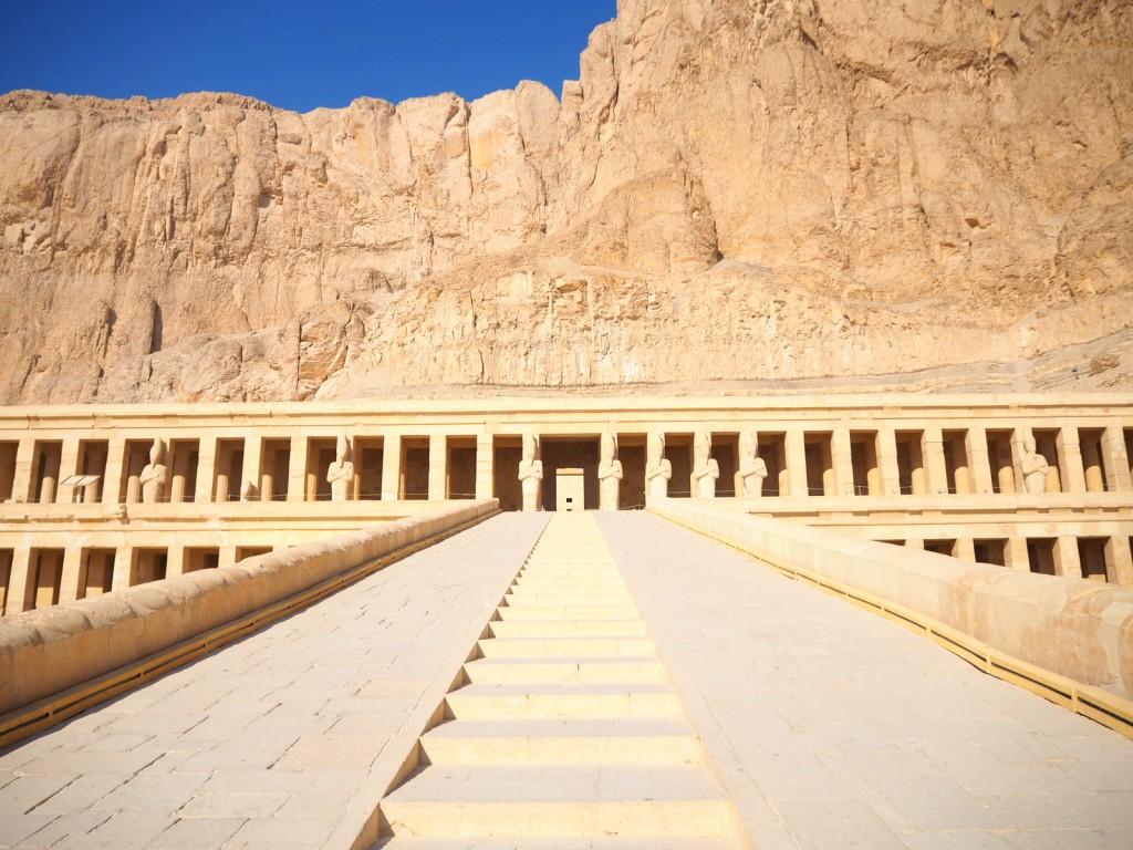 No one in Deir el-Bahari, Egypt! :-(