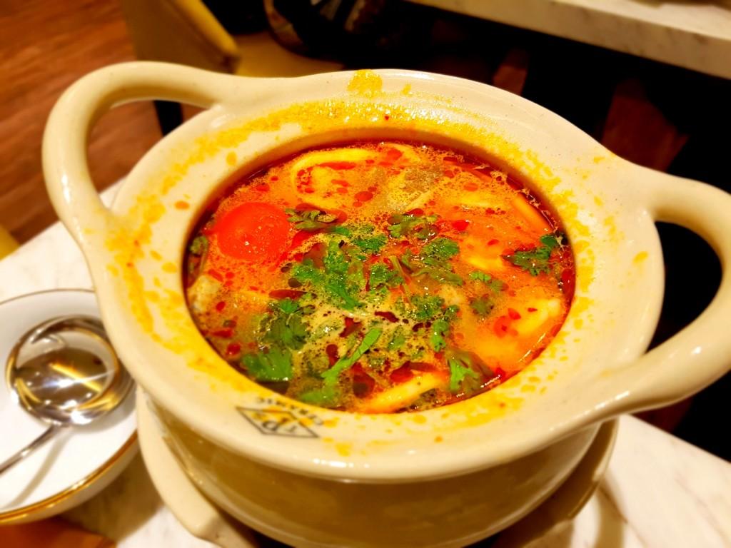 Tom Yam Soup in Claypot