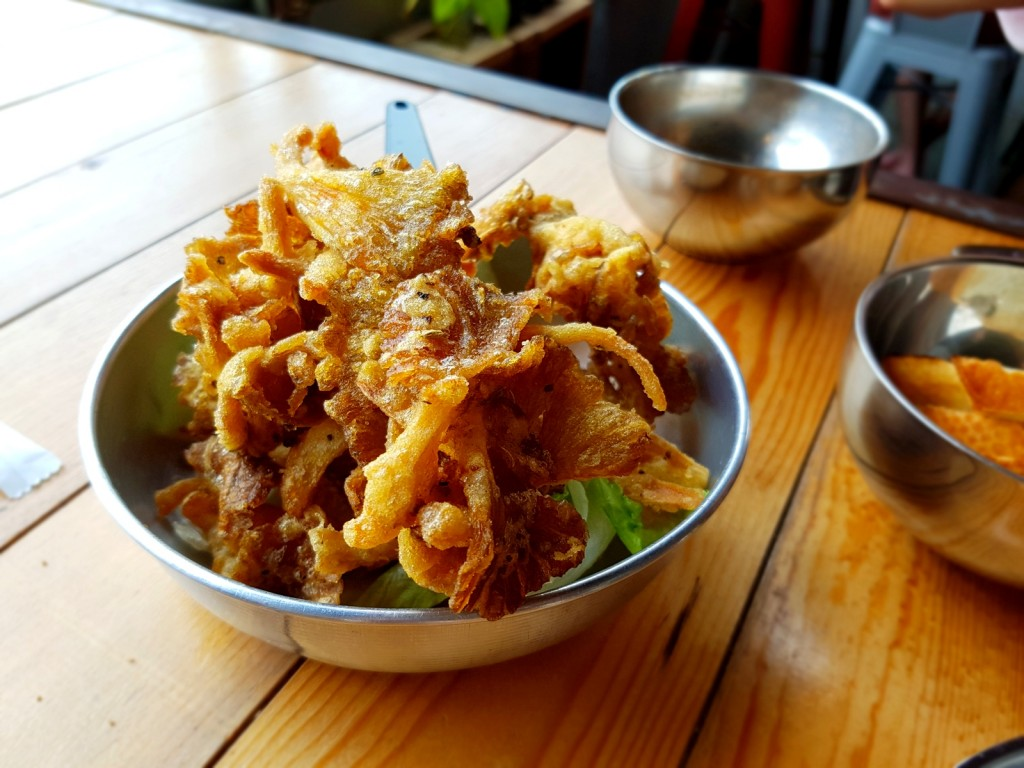 The Crispy Fried Mushroom