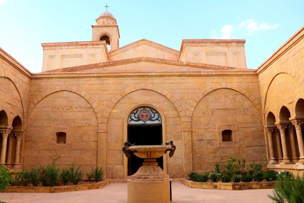 This is the movie set of a Jewish church in Ouarzazate