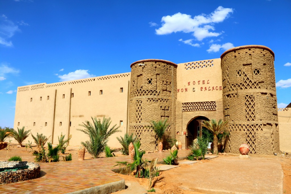 Entrance to Hotel Nomad Palace