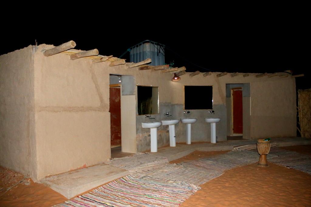 Fret not! There's toilet in the Sahara Desert! :-)