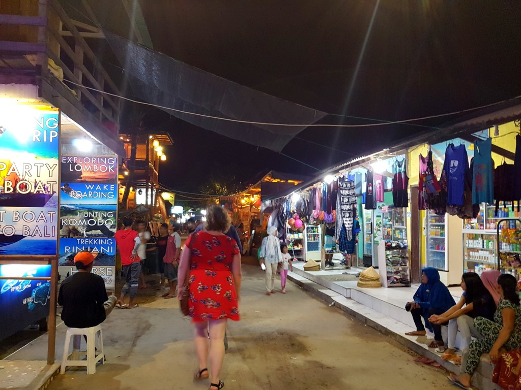 Gili Trawangan Island Shopping