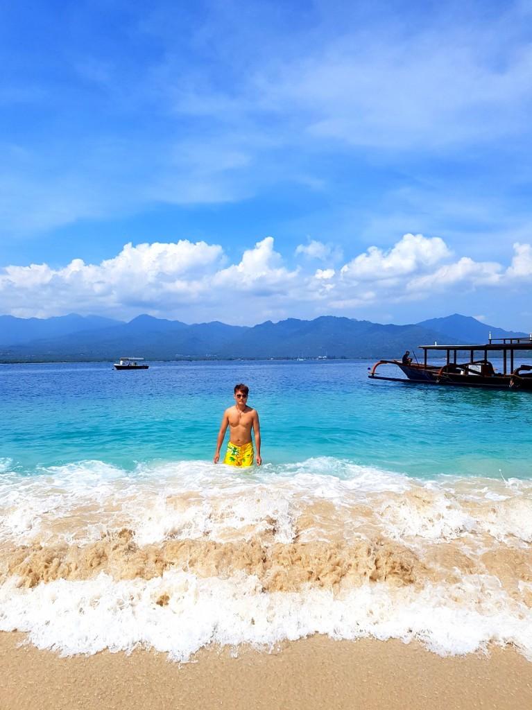 Waves Gili Islands