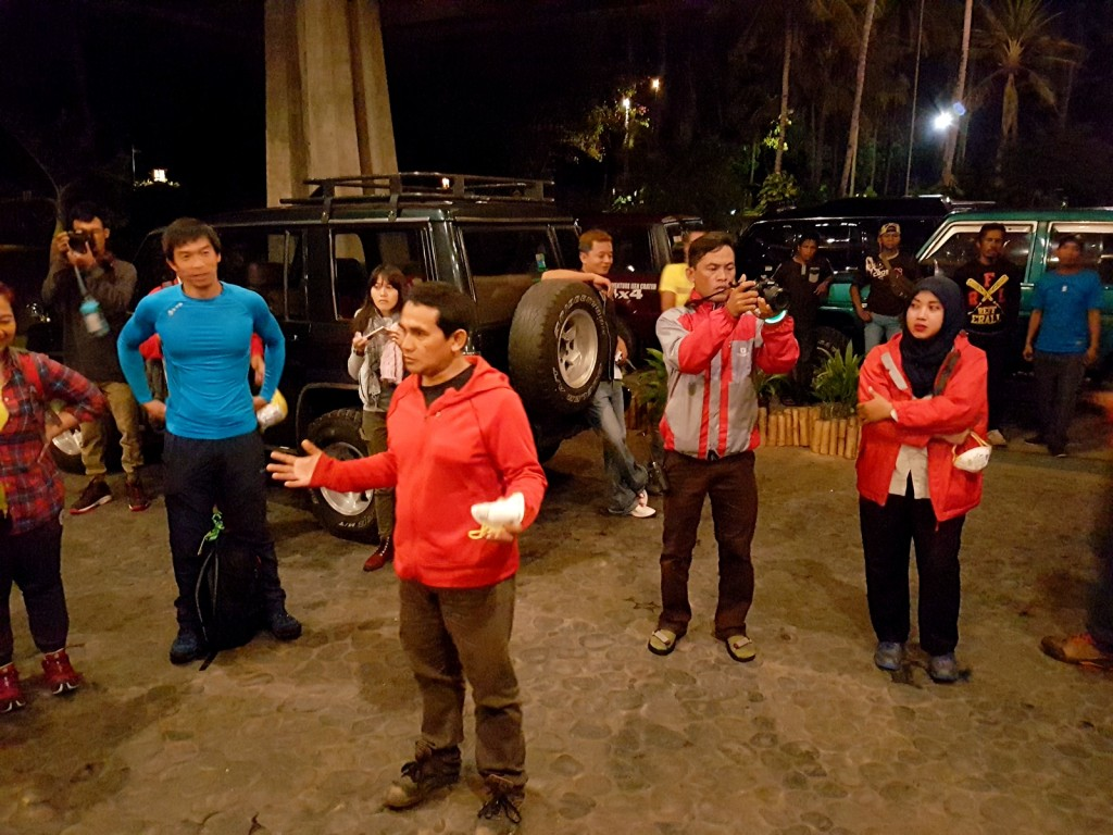 Safety Briefing Kawah Ijen