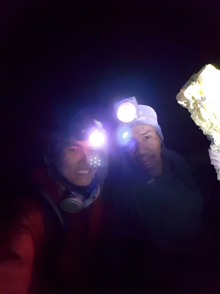 Kawah Ijen Sulphur Miners