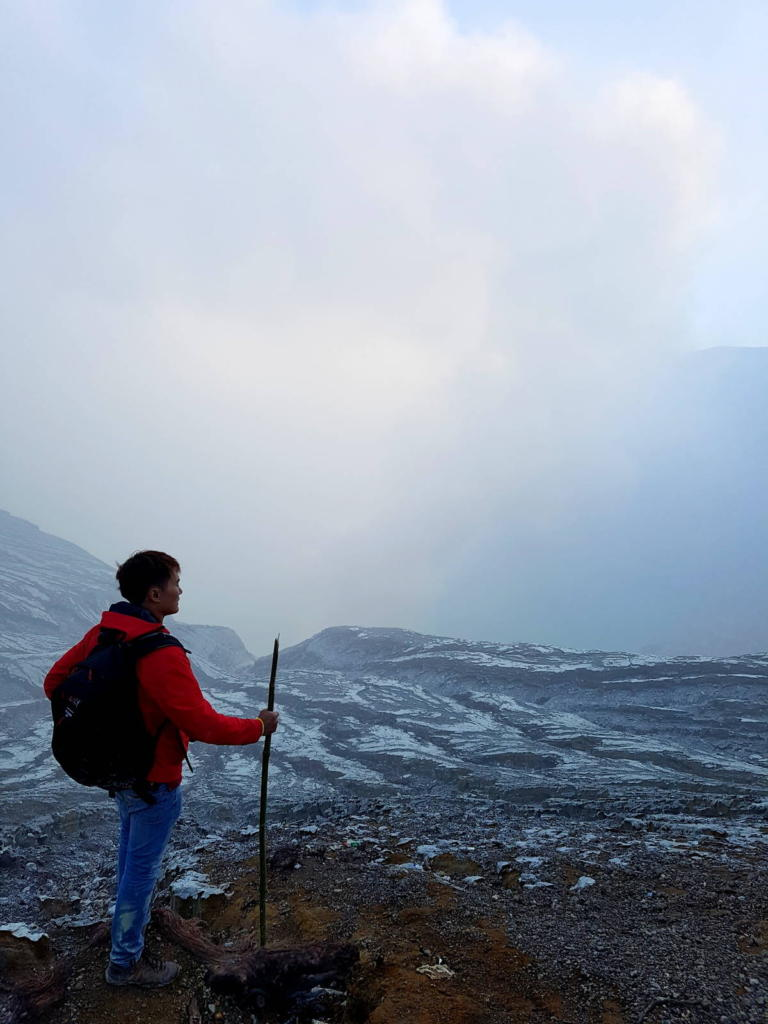 Kawah Ijen Rim of Crater