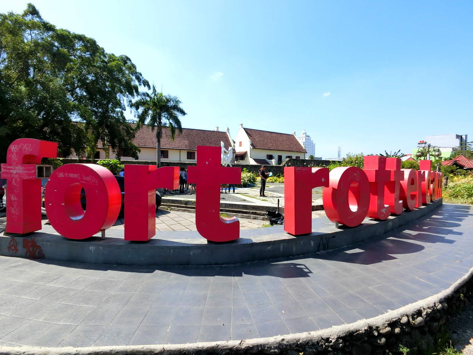 Fort Rotterdam Makassar, Indonesia